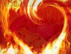 the heart is an organ of fire